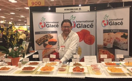 International Glacé Event Booth