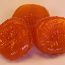 glacé apricots